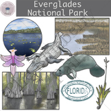 Everglades National Park Clip Art Set
