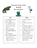 Everglades National Park Field Trip Dos and Don'ts
