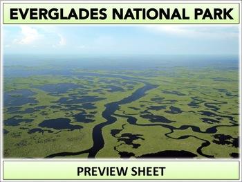 Everglades National Park : Project Materials
