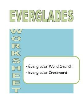 Everglades Worksheet