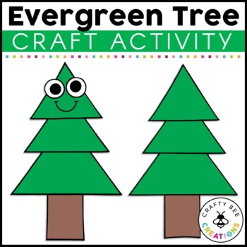 Evergreen Tree Cut and Paste