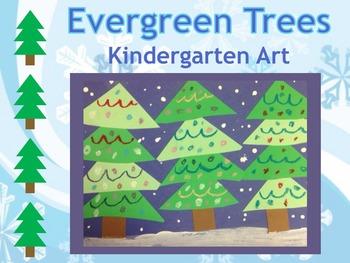 Evergreen Trees: Art Unit **BUNDLE**