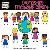 Everlasting Friendship 48 Boys & Girls Clip Art