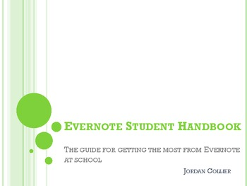 Evernote Student Handbook: Get the Most from Evernote at School