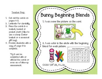 Every Bunny Loves Stations! {7 ELA Spring Stations}