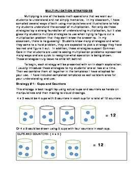 Multiplication and Division: No Fail Strategies Every Child Can Do!