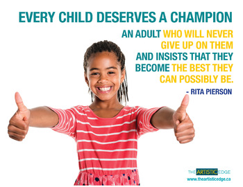 Every Child Deserves A Champion Printable Poster (8.5 x 11)