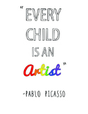 Every Child is an Artist Poster