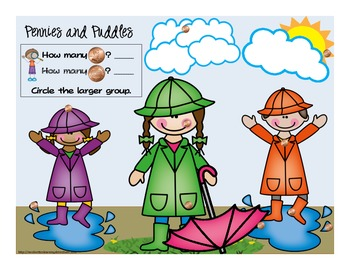 Every Coin Counts! Pennies Please! {10 Penny-Themed CCSS for K Math Activities}