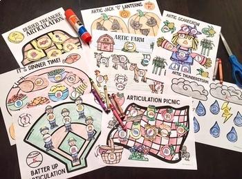 Every Craft MEGA Bundle!  Speech Therapy Craft Activities