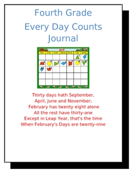 Every Day Counts Folder Cover Page
