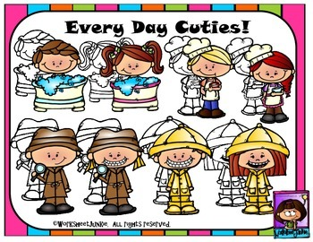 Every Day Kids clipart