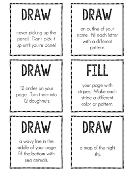 Every Day Drawing Prompts First Edition