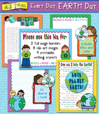 Every Day Earth Day Clip Art & Printables