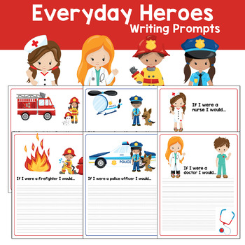 Every Day Hero Community Helper Writing Prompts