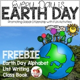 Every Day Is Earth Day FREEBIE