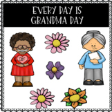 Every Day Is Grandma Day - Writing and Drawing Worksheets