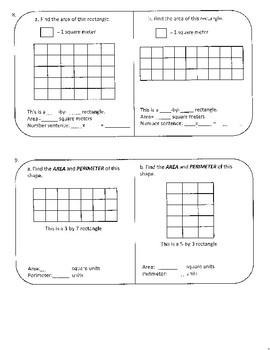 Every Day Math 3rd Grade Unit 4 Alternate Assessment/Practice