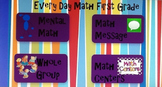 Every Day Math First Grade Unit 2 Lesson Flip Charts