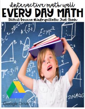 Every Day Math (Interactive Math Wall)