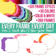 Every Day Paper and Frame Bundle