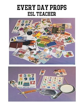 Every Day Props - Online ESL Teacher