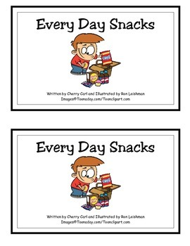 Every Day Snacks Guided Reader (-ay Word Family)