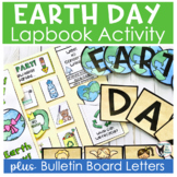 Every Day is Earth Day Lapbook and Bulletin Board Letters