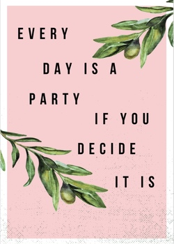 Every Day is a Party Poster