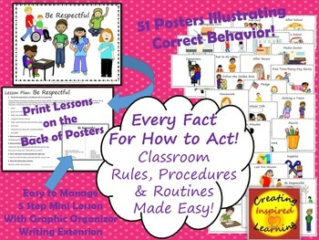 Every Fact for How to Act! Rules, Procedures & Routines Ma