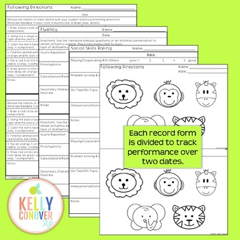 Every Goal Progress Monitor for Elementary Students