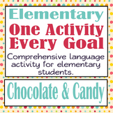 Every Goal Speech Therapy Unit-Elementary-Chocolate & Candy