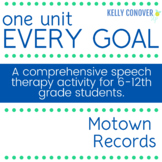 Every Goal Speech Therapy Unit - Motown Records