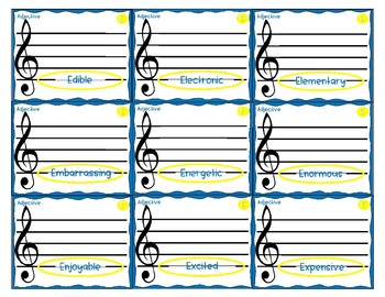 Every Good Boy (And Girl) Does Mnemonics - Treble Clef Lines