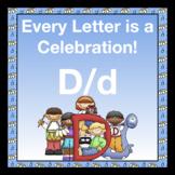 Alphabetic Principle ~ Teaching the Letter D/d