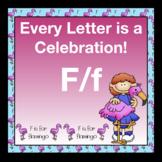 Alphabetic Principle ~ Teaching the Letter F/f