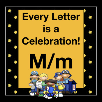 Every Letter is a Celebration! M/m