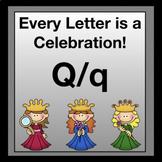 Alphabetic Principle ~ Teaching the Letter Q/q