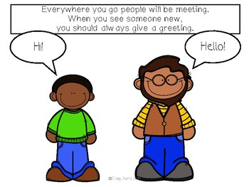 Social Stories for Autism: Every Meeting Should Have a Greeting