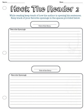 (Sale) Every Memoir Mini Lesson, All Mini Lessons in Worksheet Form