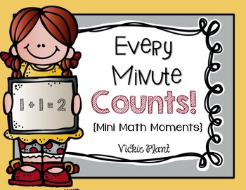 Every Minute Counts {Mini Math Moments}