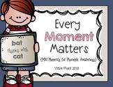 Every Moment Matters {Mini Phonemic Awareness Moments}