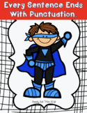 Every Sentence Ends With Punctuation (K, 1, 2 ebook with c