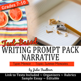 Narrative Writing Prompt Pack, Memoir: Every Summer Has a Story