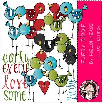 Melonheadz: Every birdie clip art - COMBO PACK
