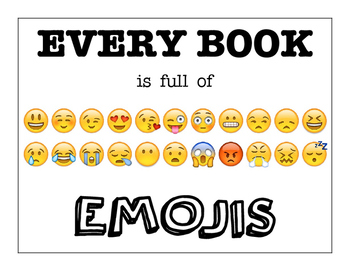 Every book is full of emojis