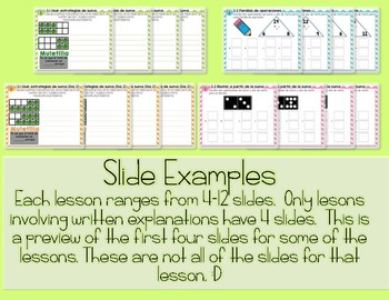 EveryDay Math 4  Unit 3 En Español  Gr. 2  Smartboard, Powerpoint, Worksheets