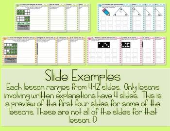 EveryDay Math 4| Unit 3 En Español| Gr. 2| Smartboard, Powerpoint, Worksheets