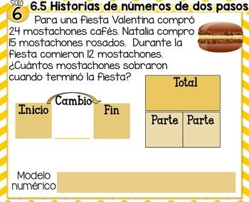 EveryDay Math 4| Unit 6| En Español| Gr. 2| Smartboard, Powerpoint, Worksheets