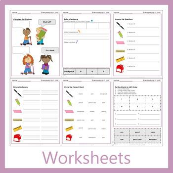 Everybody 1 - Welcome Worksheets (FREEBIE!)
